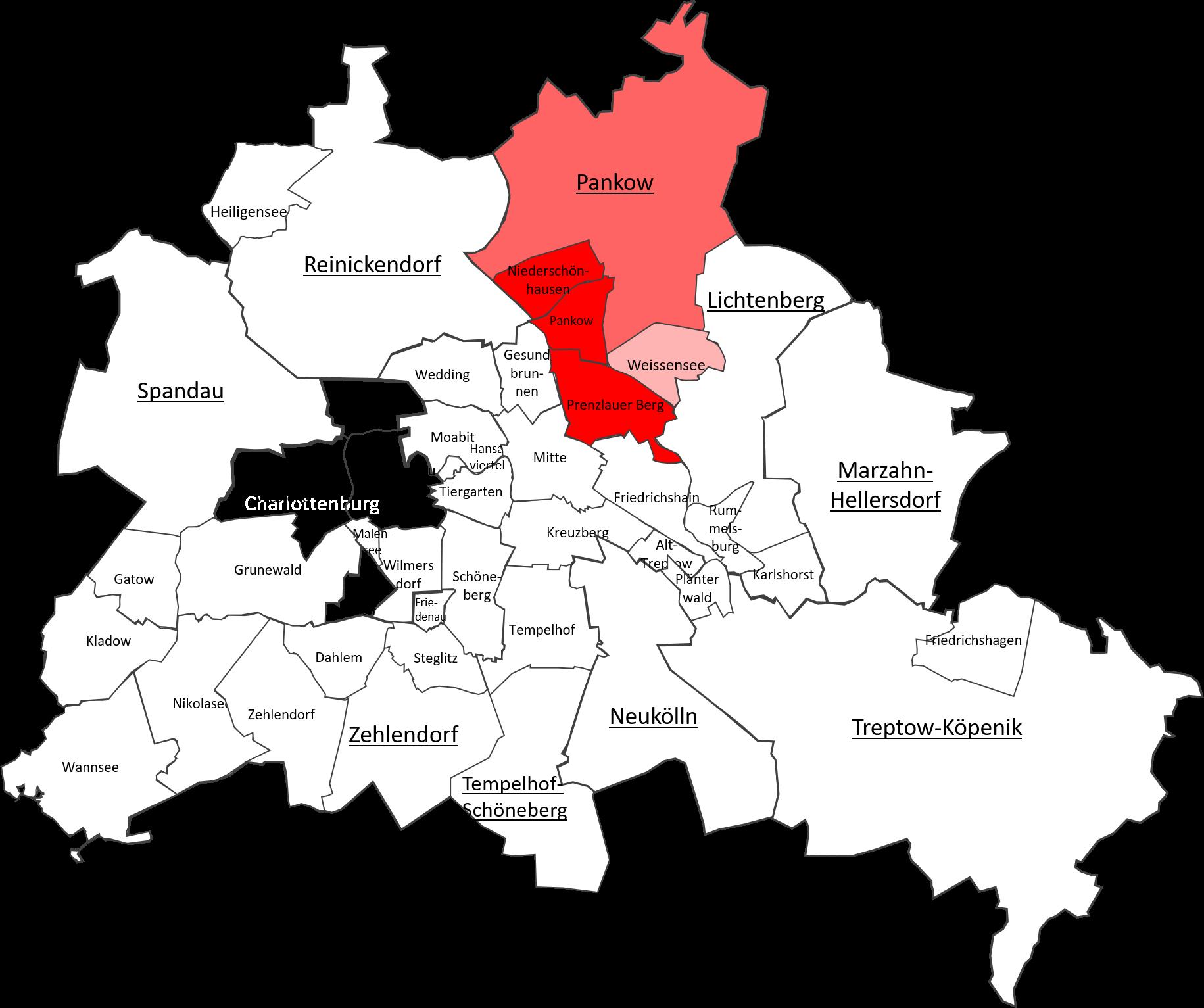 Berlin Pankow Map