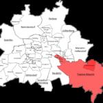 Berlin Treptow Köpenik Map