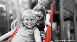 Children on slide SM (c) gpointstudio fotolia