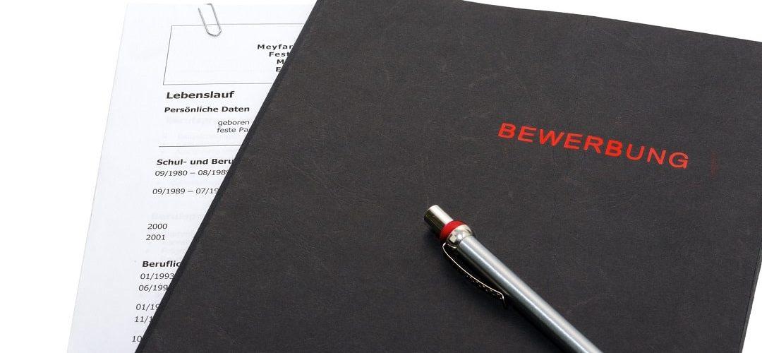 German application letter